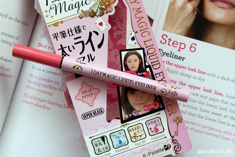 BDJ BOX Elite Corporate Chic K-Palette 1 Day Magic Liquid Eyeliner