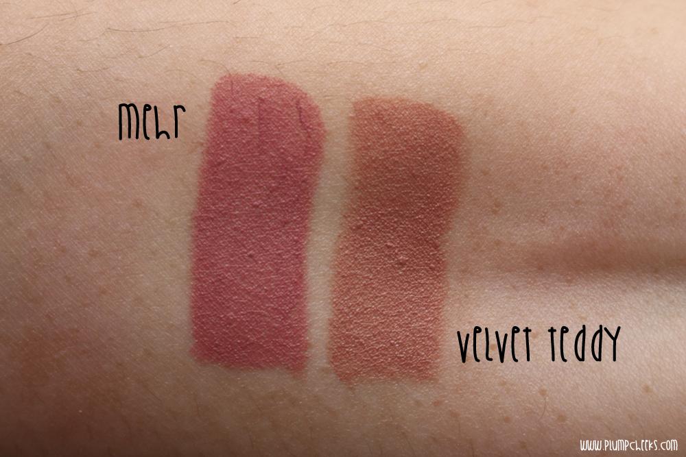 MAC Faux, Mehr & Please Me Lipsticks - The Beautynerd
