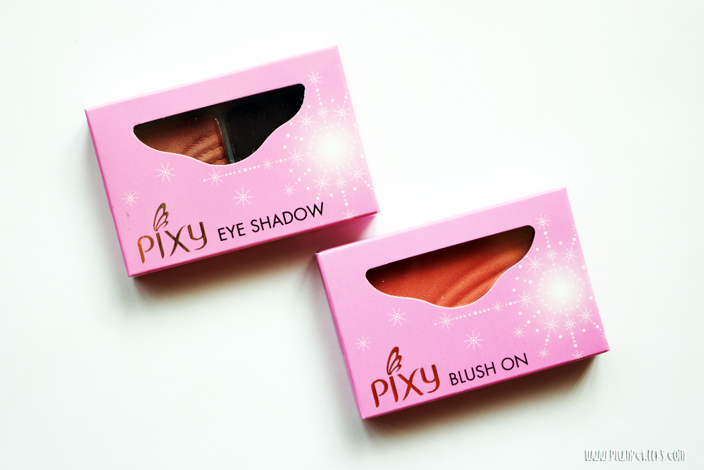 Pixy Eyeshadow Pixy Blush On