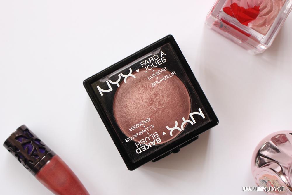 NYX baked blush in Chiffon (5)