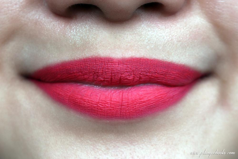 MeNow Pro Kiss Proof Soft Lipstick 002 Swatch