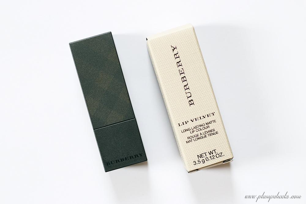 Burberry Lip Velvet Long Lasting Matte Lip Colour in Rosewood No. 421