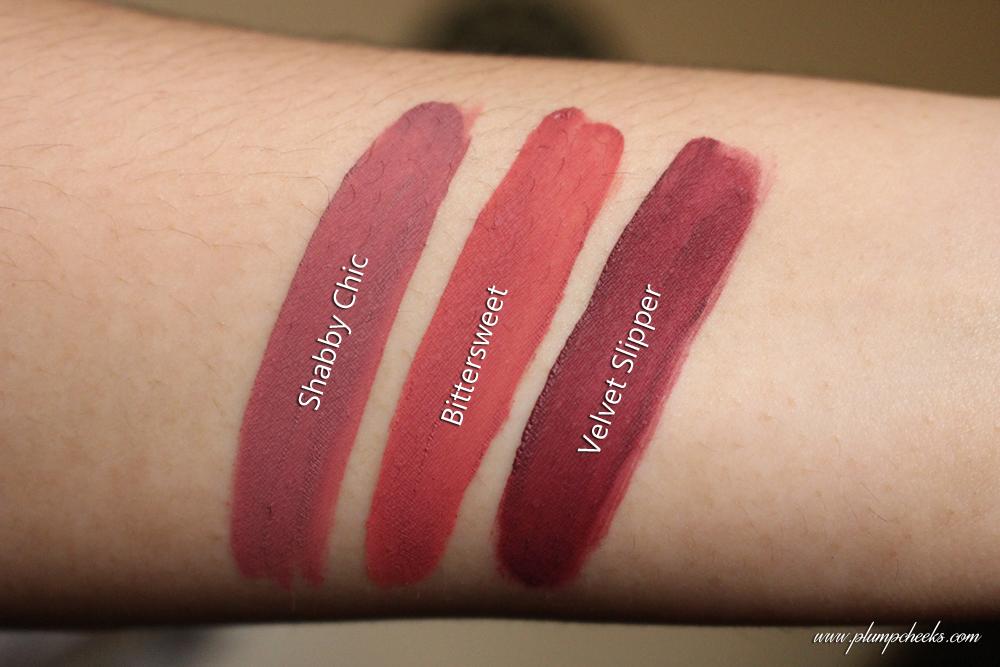 NEW Sleek Matte Me Lip Creams Swatches