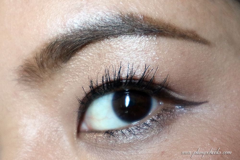 MATTE IN DETAIL MAKE BROW WEAR TEST