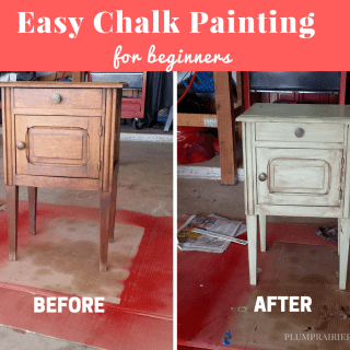 Easy chalk painting for beginners