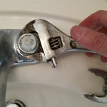 leaky faucet wrench