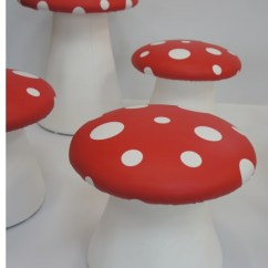 Adult Egg Chair Red Chairs Ikea Plunge Productions :- Gorgeous Toadstool Seats