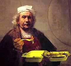 Rembrand Kebab (Scuola di Atene)