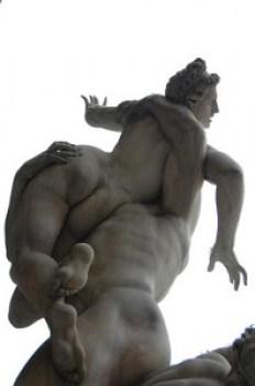 Il ratto delle Sabine del Giambologna (foto di atrogu)