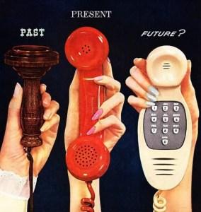 Telefoni del passato, presente e futuro