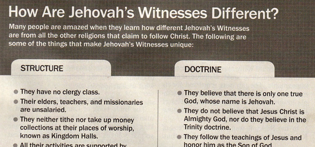 Who are Jehovah's Witnesses? – Pluralist Nation