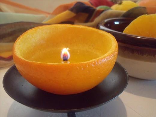 comment faire une bougie avec une orange. Black Bedroom Furniture Sets. Home Design Ideas