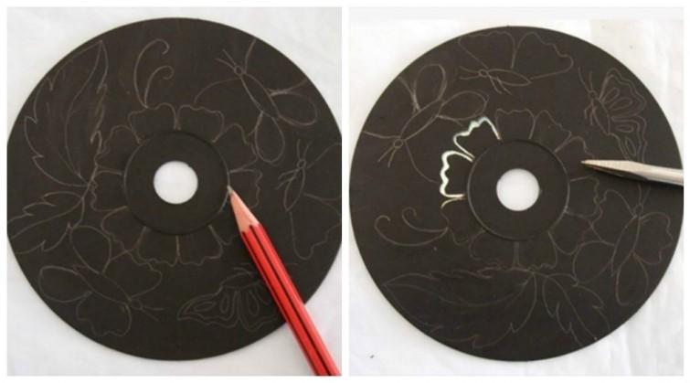 5 idées pour réutiliser des CD