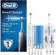 ΗΛΕΚΤΡΙΚΗ ΟΔΟΝΤΟΒΟΥΡΤΣΑ ORAL-B CENTER OXYJET ORAL IRRIGATOR + ORAL-B SMART 5