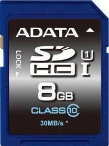 ADATA PREMIER SDHC 8GB UHS-I CLASS 10