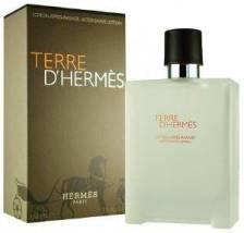 AFTER SHAVE ΛΟΣΙΟΝ HERMES, TERRE D'HERMES 100ML