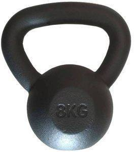 KETTLEBELL OPTIMUM BLACK MATT (8 KG)