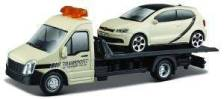 STREET FIRE FLATBED TRANSPORTER VW POLO GTI MARK 5 BBURAGO ΜΕΤΑΛΛΙΚΟ ΑΝΤΙΓΡΑΦΟ 1:43 (18/31403)