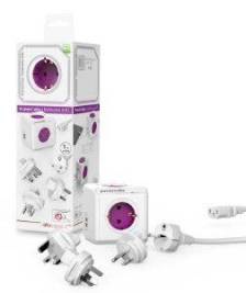 ALLOCACOC REWIRABLE TRAVEL PLUG INCL 1M CABLE