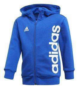ΖΑΚΕΤΑ ADIDAS PERFORMANCE LITTLE KIDS FZ HOODIE ΜΠΛΕ ΡΟΥΑ