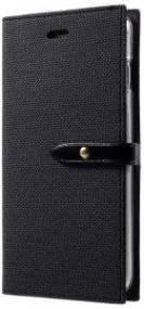 MERCURY GOOSPERY LEATHER MILANO DIARY FLIP CASE APPLE IPHONE 6/6S PLUS BLACK
