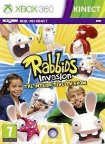 RABBIDS INVASION : THE INTERACTIVE TV SHOW - XBOX 360