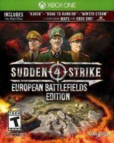 XBOX1 SUDDEN STRIKE 4: EUROPEAN BATTLEFIELD EDITION