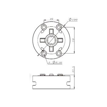 China D100 Macro Manual Chuck Suppliers & Manufacturers