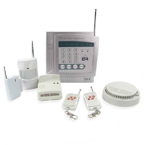 Wireless Alarm System Garage