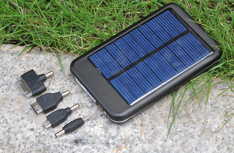 Secur 4000mah Solar Panel Charger