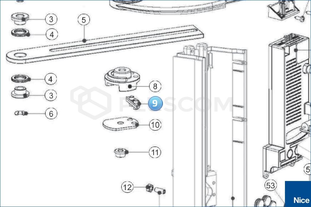 Nice Connector WALKY (BMG1803.45672)