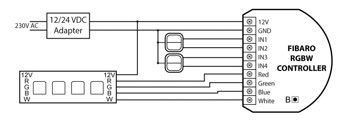 wiring diagram of home ups