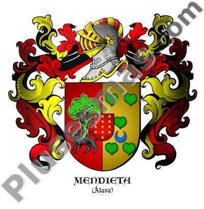 Escudo del apellido Mendieta