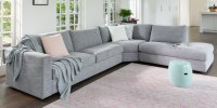 Oasis Fabric Sofas | 2 Seater & 3 Seater Sofa | Plush
