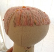 yarn hair tutorial plushie patterns