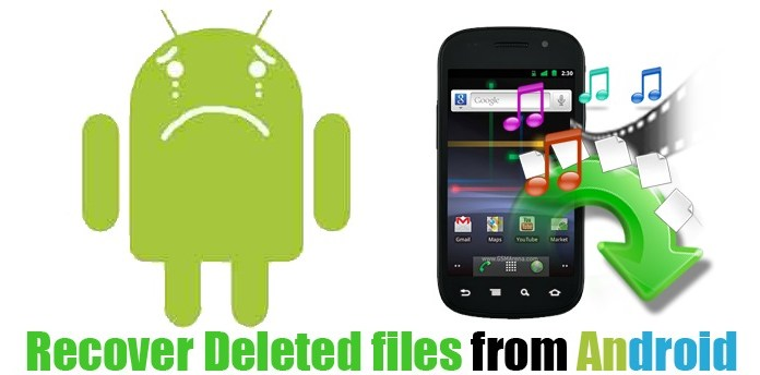 restore - deleted - android