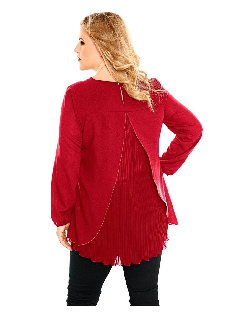 Plus-Size-Bluse