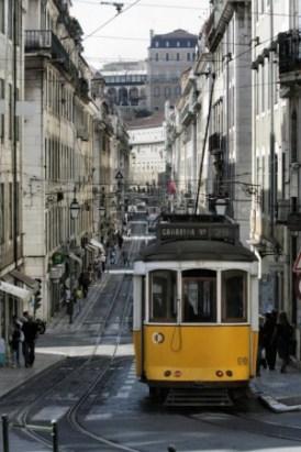 Lissabon: Tram Downtown - Bild: www.visitlisboa.com