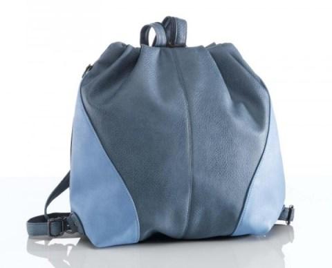 Rucksack in blau-grau - Bild: Klingel.de