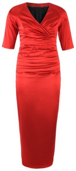 Plus Size I Red Affair! Long Evening Dress, Poppy Red - dorismegger.com