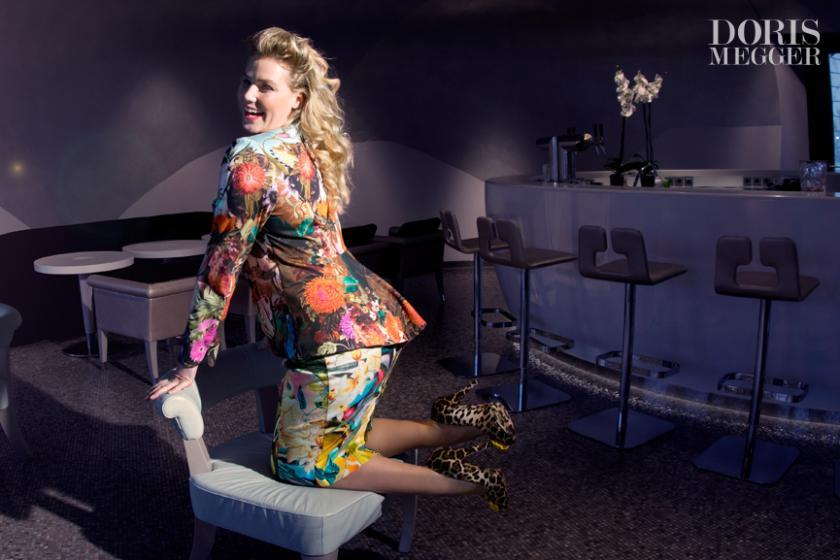 Kostüm für kurvige Frauen aus der Doris Megger Kollektion