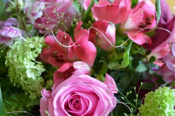 Rosenstrauss in Pink