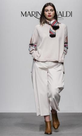 Eleganter Look: Culotte von Marina Rinaldi