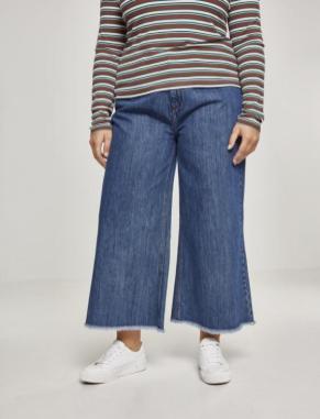 Trend-Thema Jeans-Culotte | Label: Urban Classics