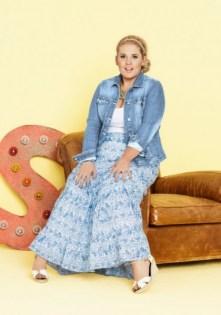 Hippie Look in Plus Size - Maite-Kelly-Kollektion für bonprix