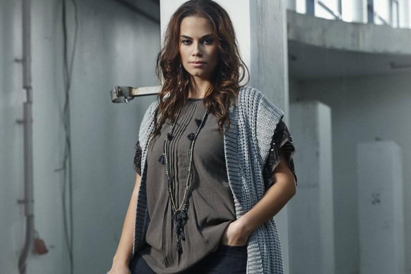 Blusenshirt und Jacke in Plus Size I Bild: Adia