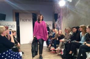 Transparenz in Pink I Bluse aus der Guido Maria Kretschmer Kollektion by Heine I PlusPerfekt.de