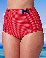 Retro mit Polka-Dots I Bikini-Höschen für Curvys I Simplybe-euro.com