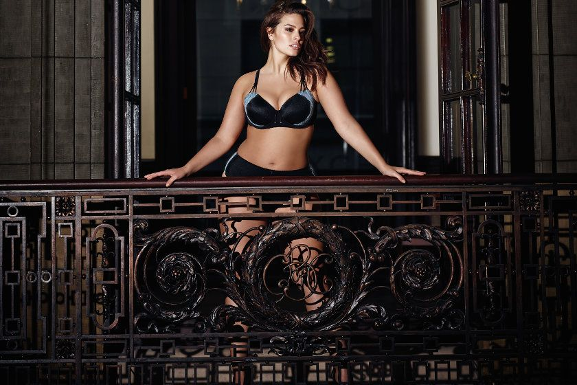 Verführerische Plus Size Dessous aus der Ashley Graham Kollektion