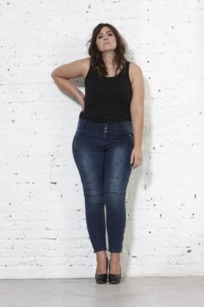Plus Size Jeans von ADIA